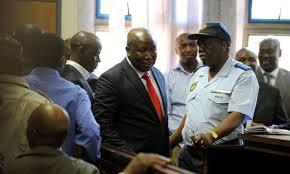 Byly lider młodzieżówki ANC odpowiada w sądzie na zarzuty zachęcania do morderstw