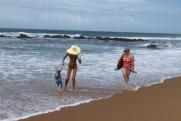 Plażowe spacery...
