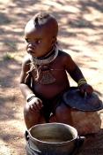 W wiosce u Himba