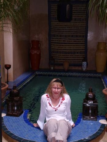 Marrakesz - basen w naszym riad