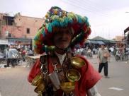 Marrakesz - sprzedawca wody