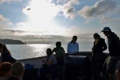 W drodze na wyspę Inhaca