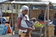 Market na wysepce Inhaca