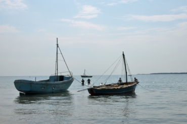 Inhaca - lodalne łódki