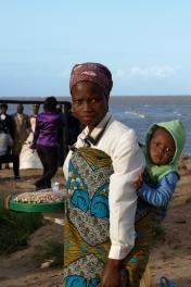 Maputo - market przy plaży