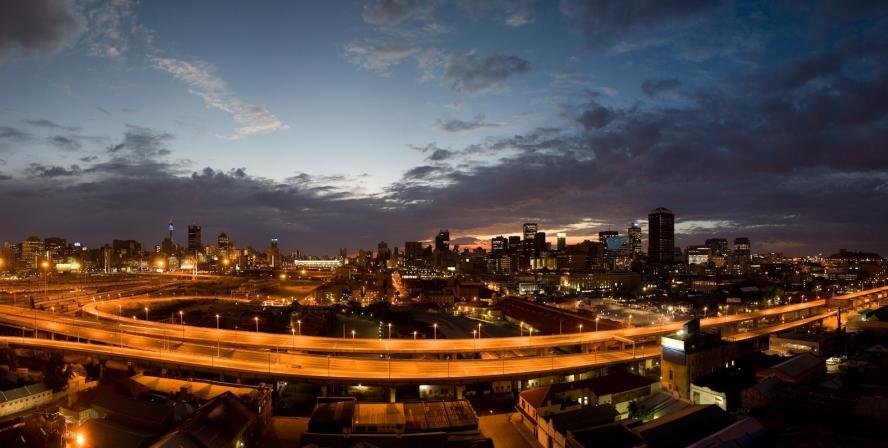 Panorama Johannesburga - New Town