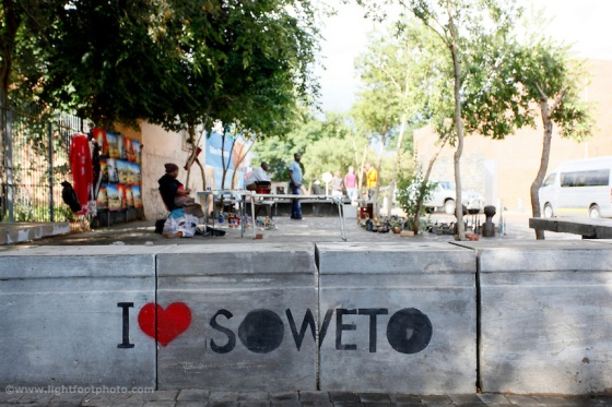 Soweto, orlando west, pavement, art, artist, sign, love, like, Johannesburg, South Africa, township