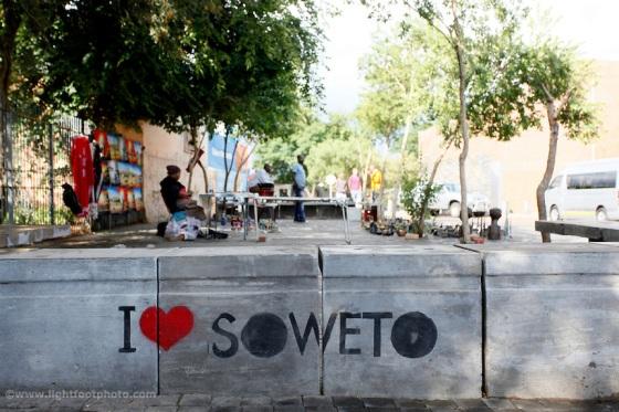 Soweto, orlando west, pavement, art, artist, sign, love, like, Johannesburg, South Africa, township