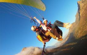 Paragliding w tandemie