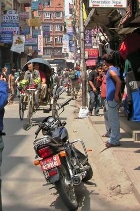 Spacer po Thamel - Kathmandu