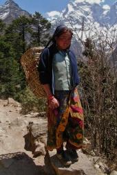Tybetanska dziewczynka