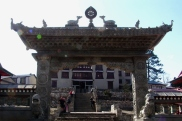 Slynie z monastyru tybetanskich mnichow buddyjskich