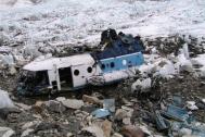 Helikopter, ktory rozbil sie o okolicy w 2003 roku