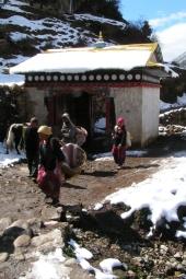To juz ostatnia noc.. Rano idziemy w dol do Lukli i lecimy do Kathmandu