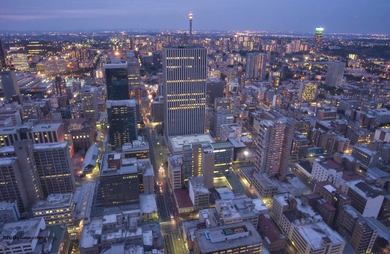 Skyline-JOHANNESBURG-South-Africa-night