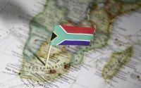 South+Africa+SA+flag+map