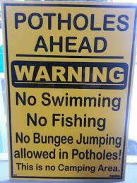 Takie to mamy dziury w RPA ;-) nawet na bungee można do nich skakać!