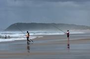 Ponta do Ouro i okolice to popularne miejsce na wędkowanie...